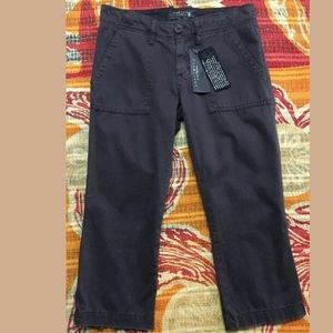 Sanctuary Anthropologie Capri cropped pants Sz 24